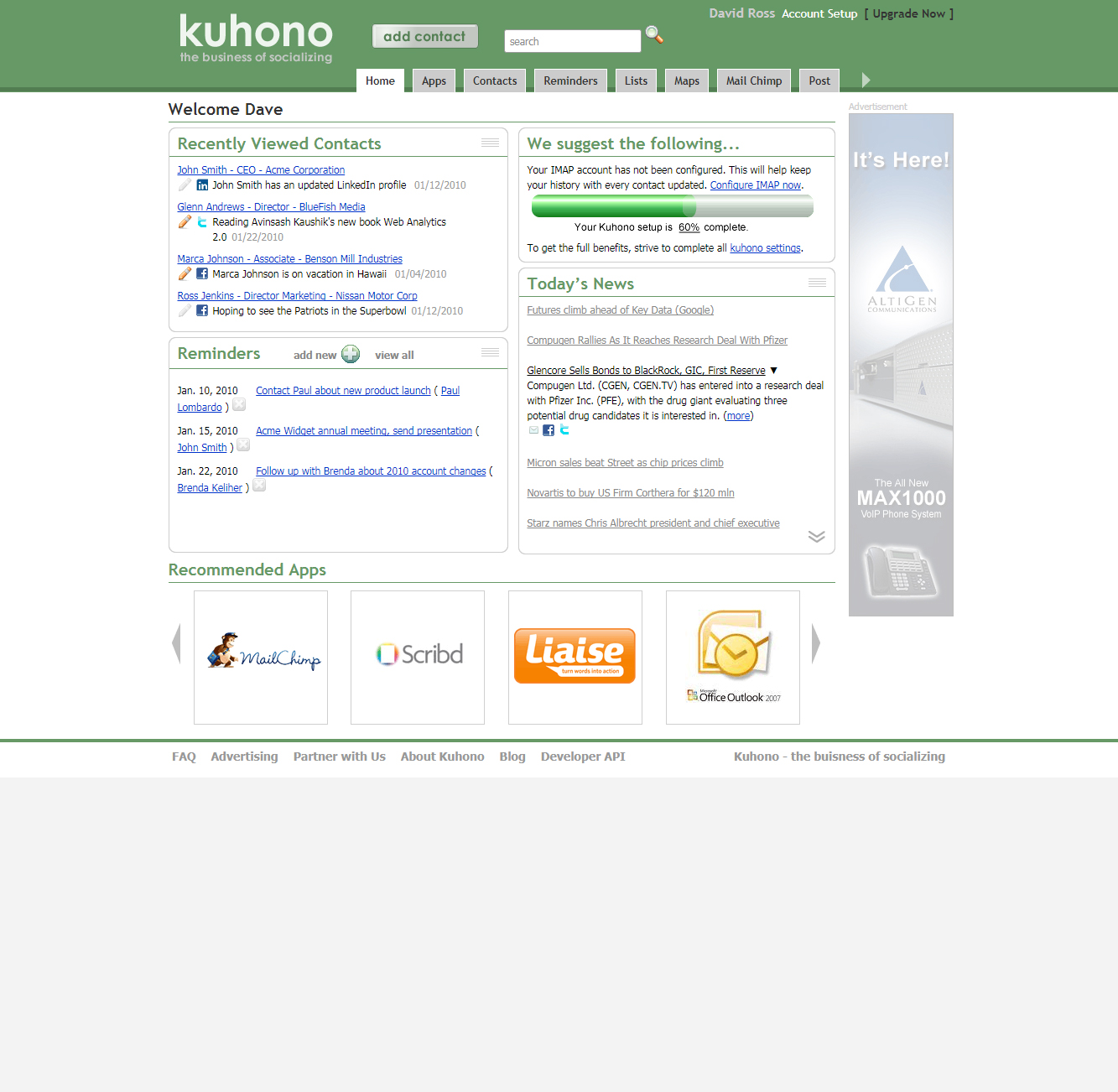 Kuhono home