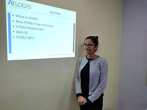 Priyanka Shukla Atlogys tech Talk