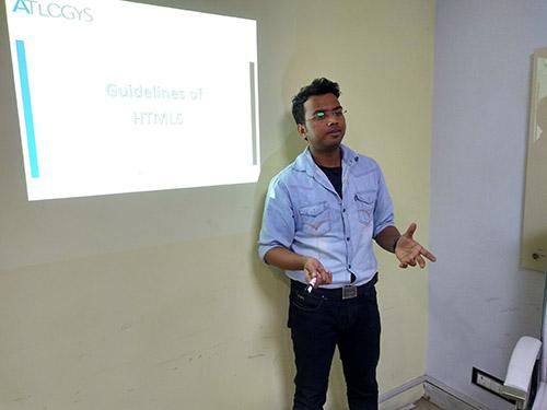Yatendra Atlogys Academy tech Talk Html