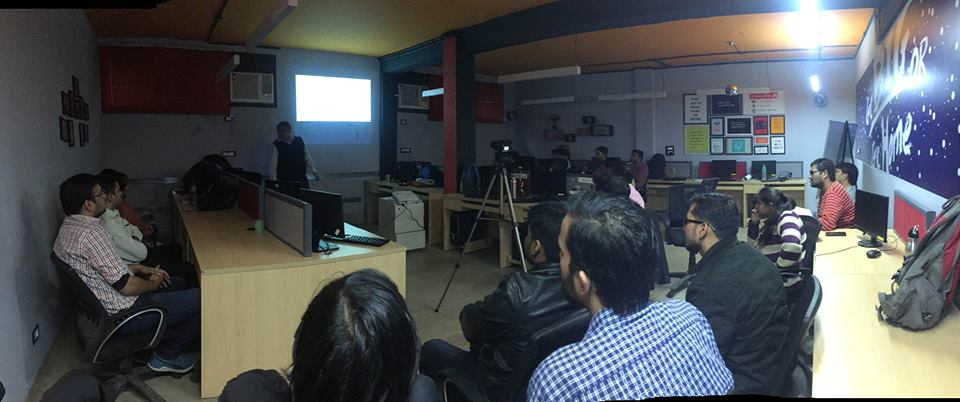 technology talk was by Atlogys Senior Technology Manager Rajat Jain